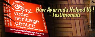 How Ayurveda Helped: Testimonials Corner